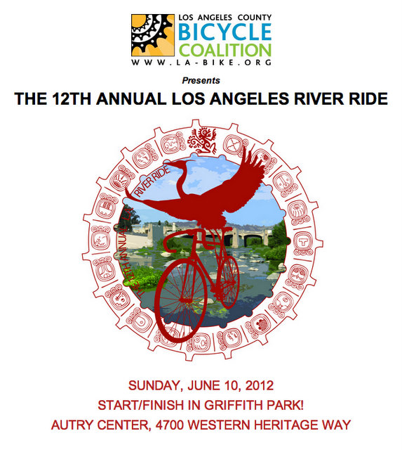 Los Angeles River Ride logo