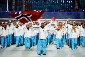 Norway Sochi Opening Ceremony
