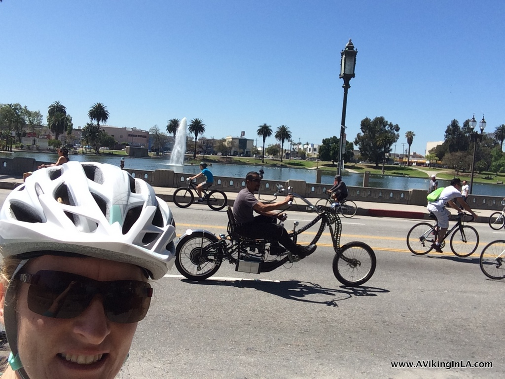MacArthur Park at CicLAvia: Iconic Wilshire (April 2014)