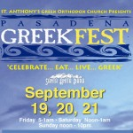 Pasadena GreekFest flyer