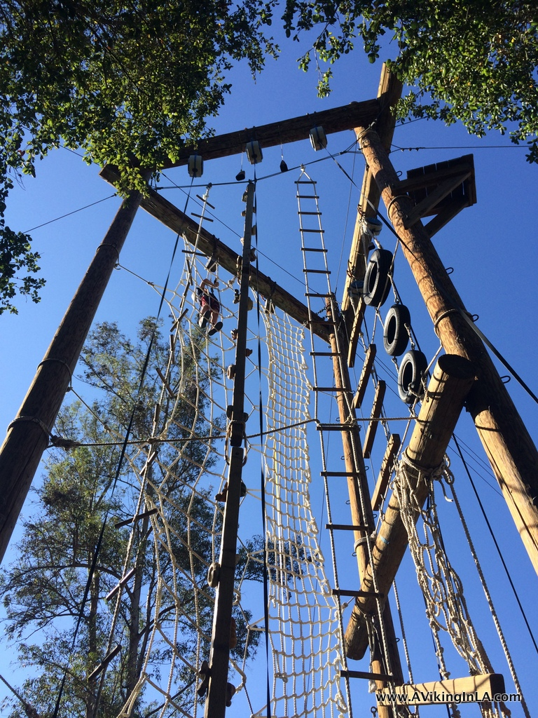 Cali Camp Ropes Course