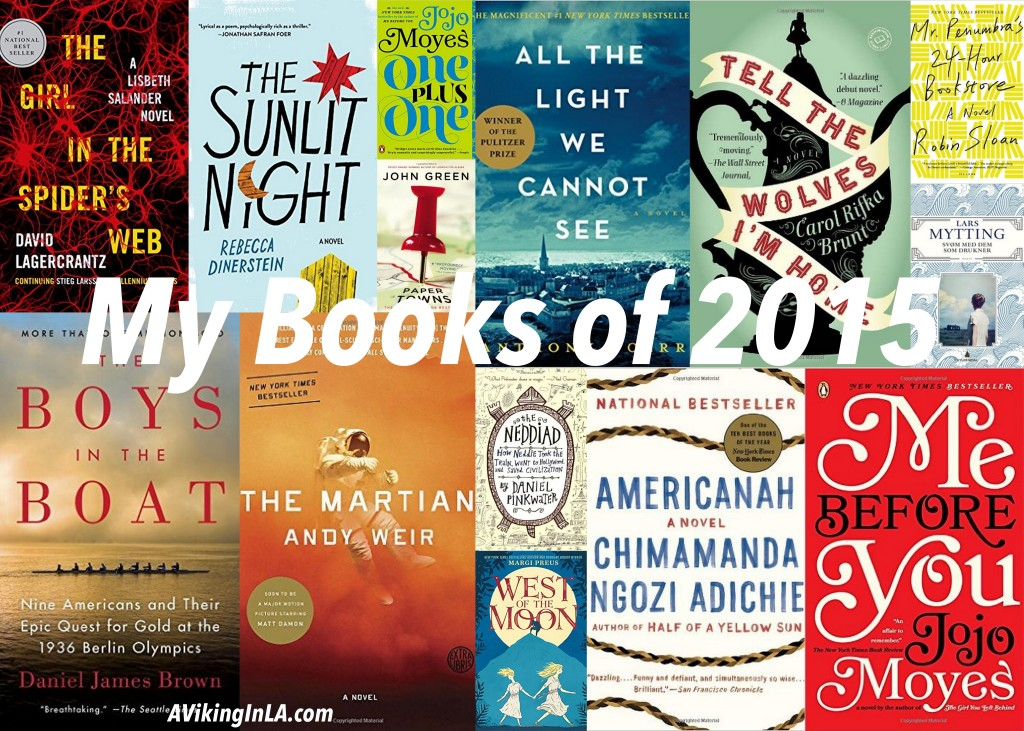 My Books of 2015