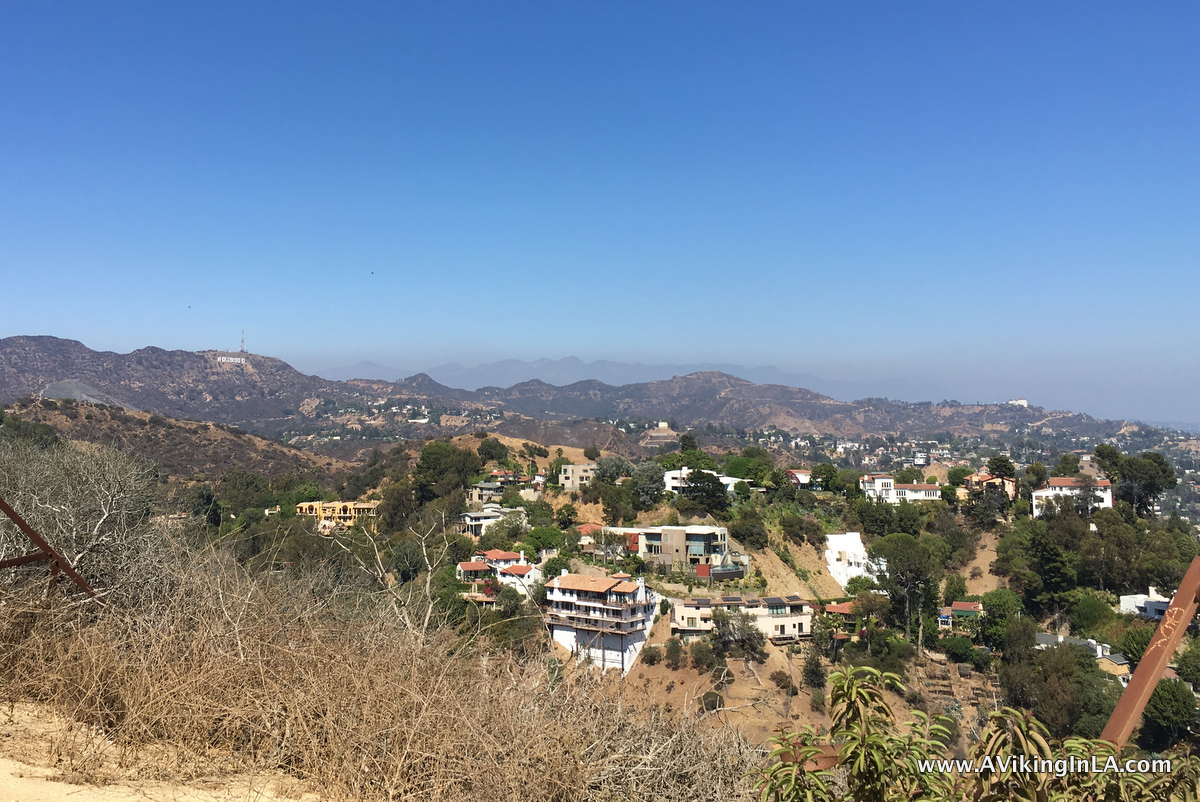 Runyon Canyon hills view
