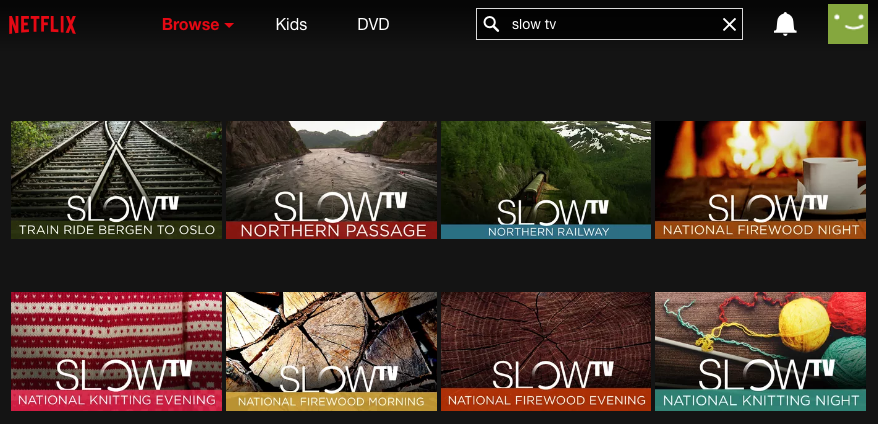 Guide to Norway's Slow TV on Netflix » A Viking in LAA Viking in LA