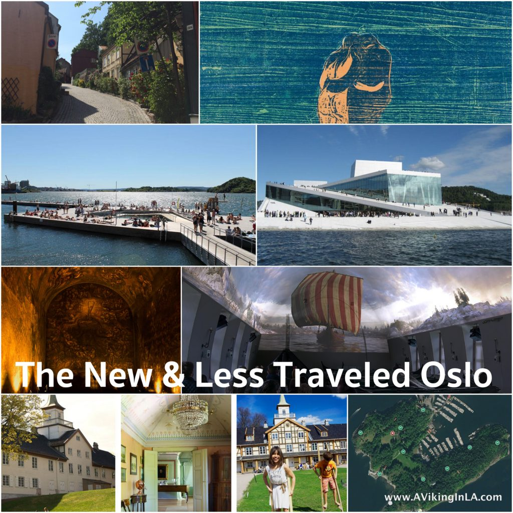 new and less traveled sightseeing in Oslo